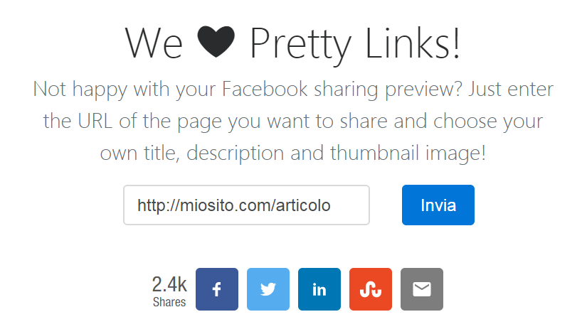 Pretty Links - Homepage