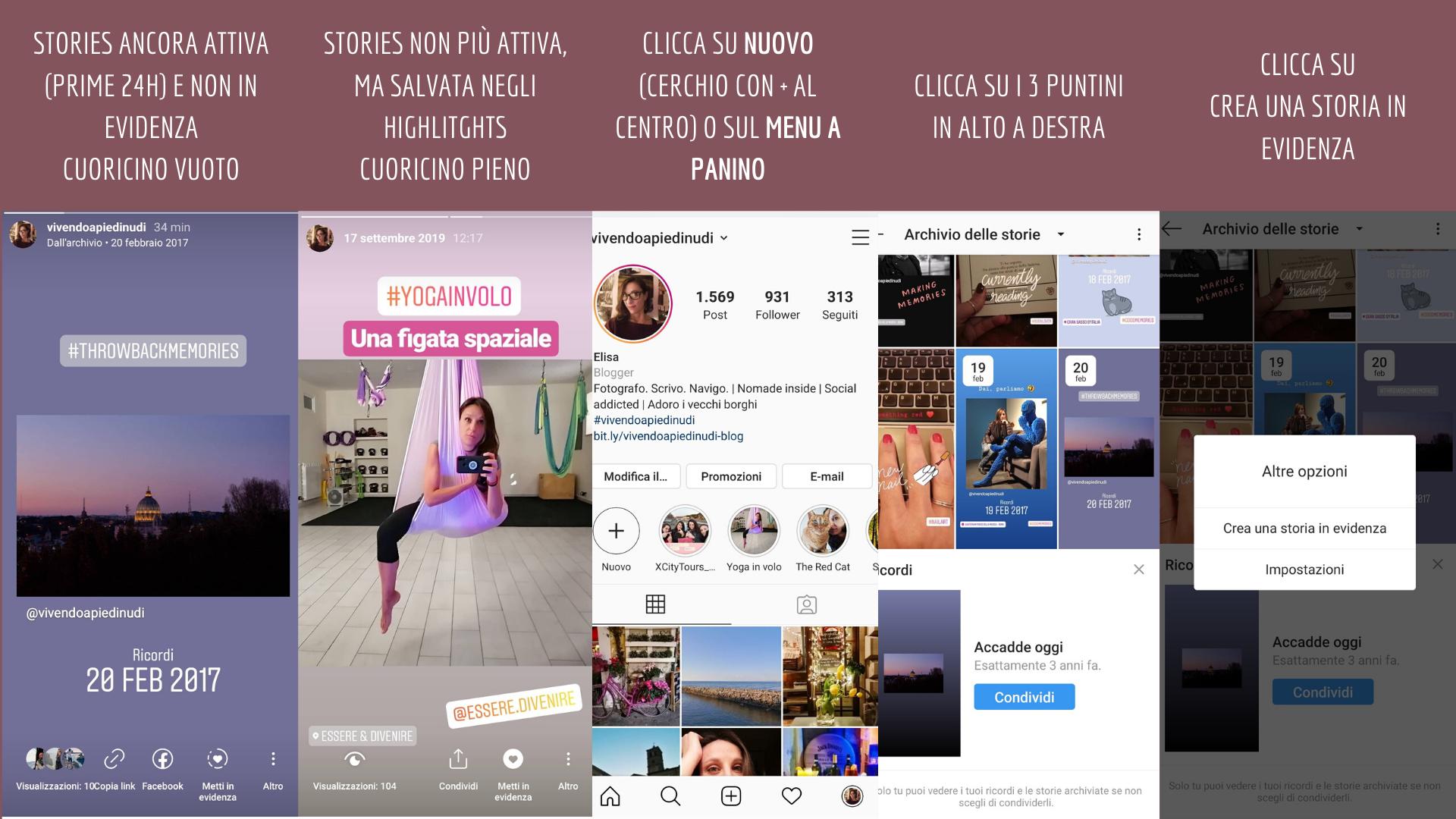 Instagram e i contenuti in evidenza: cosa sono e come si creano