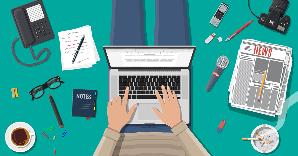 blocco del copywriter