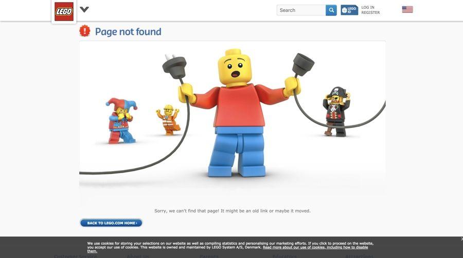 Lego-errore 404