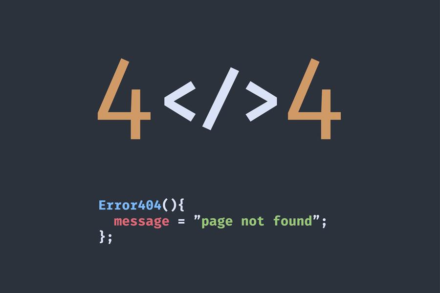 personalizzare pagina errore 404