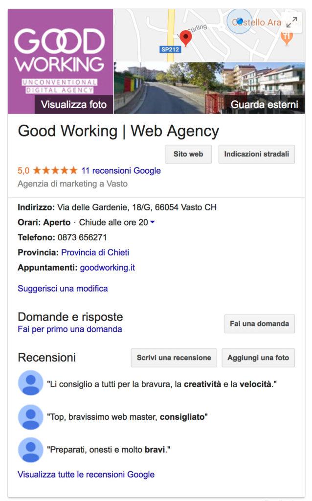 local SEO Google my business