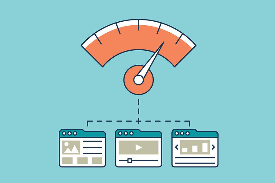 velocità caricamento sito web
