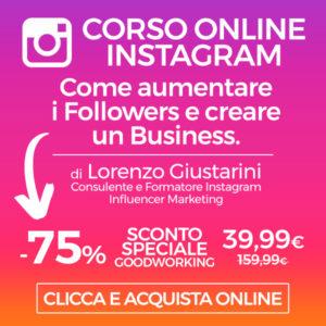 corso online instagram