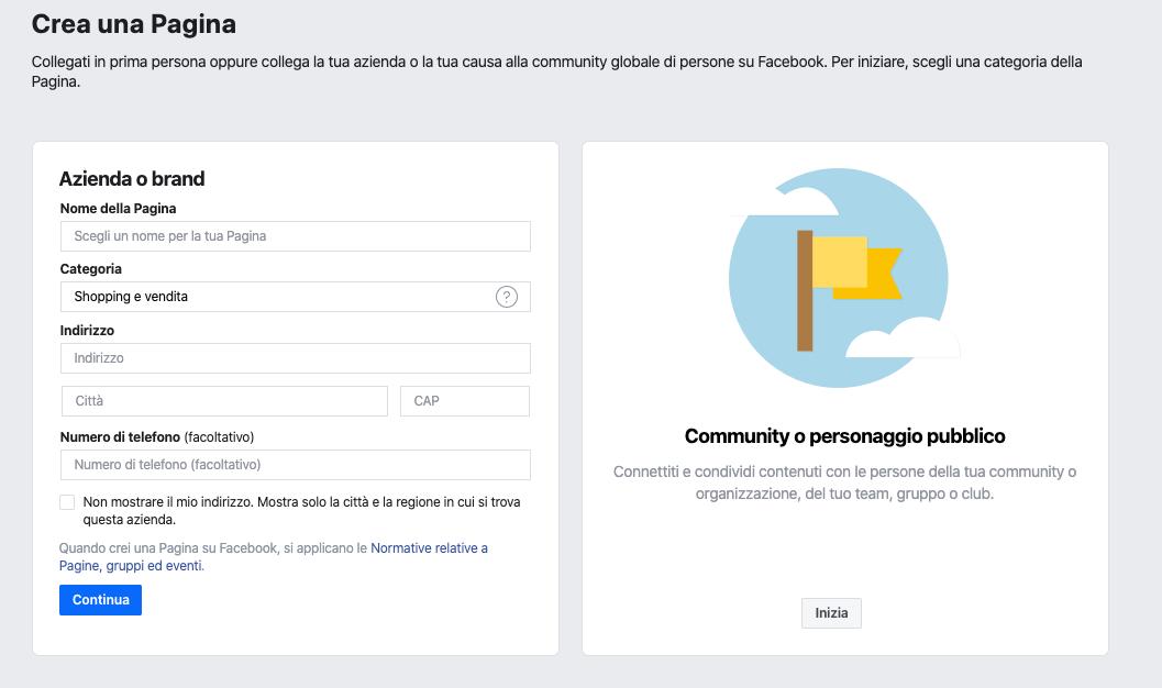 Come creare e gestire i luoghi e le sedi su Facebook