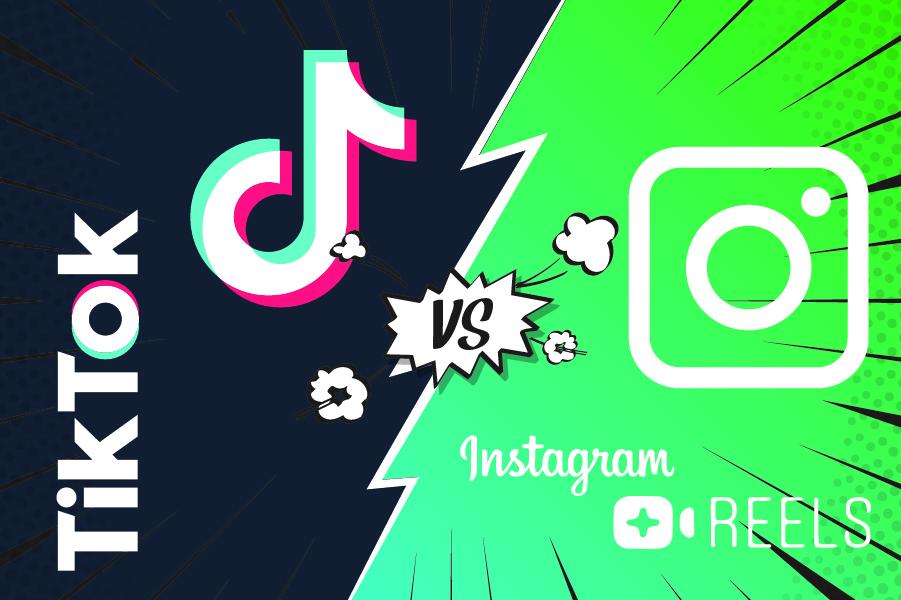 TikTok e Instagram Reels