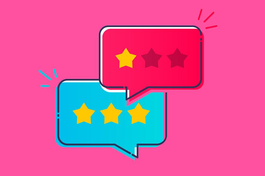 Come aumentare le recensioni positive della tua attività online